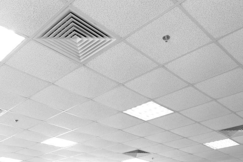isolation phonique plafond bureaux
