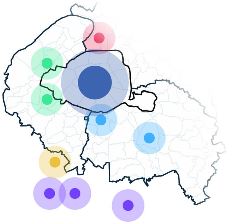 carte intervention aménagement bureaux
